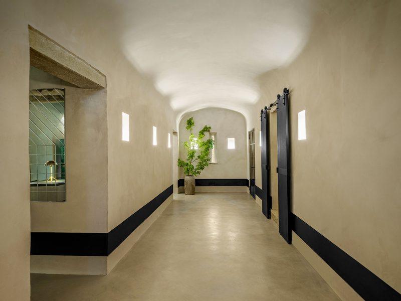 Interior design of Badia di Pomaio